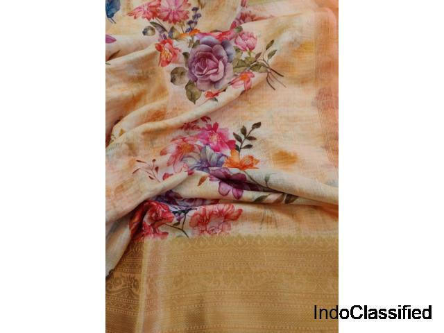 Shree Jain Jari Store: Buy Chanderi Silk Sarees In Kolkata