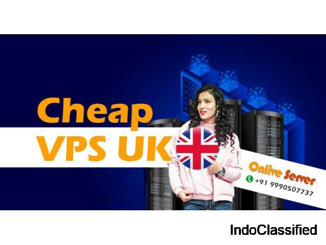 Get Cheap UK VPS Server Hosting Plans Powered by Onlive Server