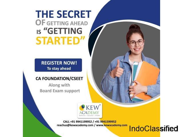 CA Foundation Course | CA Foundation Classes -KEW Academy