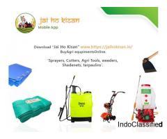 Buy Agri Equipments Online - Jai Ho Kisan