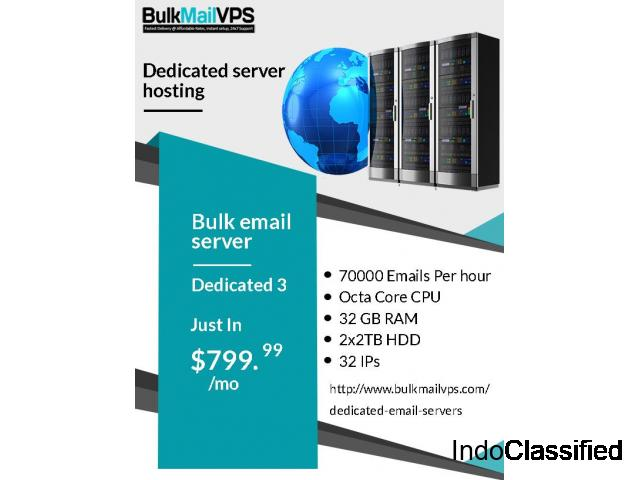 DEDICATED SMTP SERVERS TO SEND MILLIONS OF EMAILS ON DAILY Basis AT CHEAP PRICE