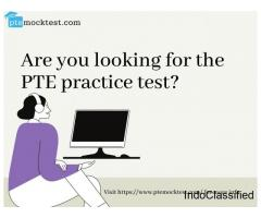 Are you looking for the PTE practice test?