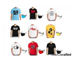 Buy Wholesale Printed T-shirt and Get Mask Free