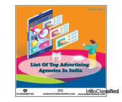 Are you looking for the list of top advertising agencies in india