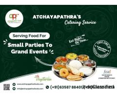 Celebrating food and special days with AtchayaPathra Foods Catering Service