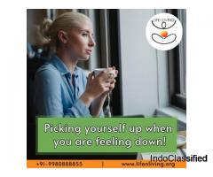 Picking yourself up when you are feeling down!