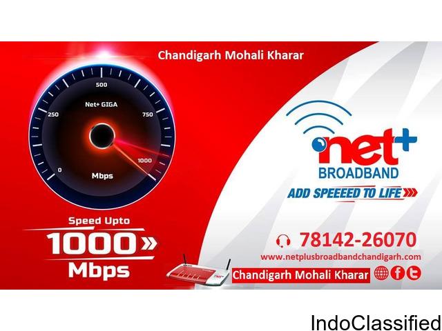 Netplus Broadband Services Chandigarh Mohali