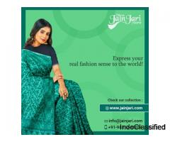 Shree Jain Jari Store — Best Saree Shop in Kolkata | Buy Indian Silk and Cotton Sarees