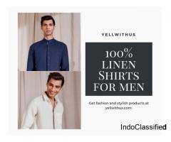Buy 100% Quality Linen Shirt for Men