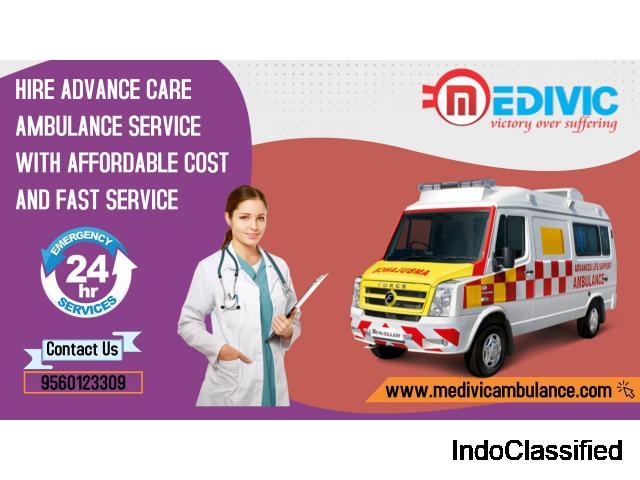 Get an ICU Ambulance Service in Ramgarh, Jharkhand by Medivic Ambulance