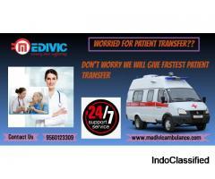 Medivic Ambulance Service in Bhagalpur, Bihar- Patient Transportation