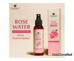 Buy Premium Quality Steam-distilled Rose Water