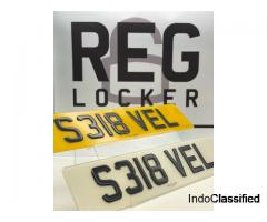 We Provide Current Style Number Plates: