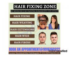 Non-surgical Hair Replacement Services| Hair Fixing Zone