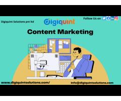 Best Content Marketing Services | Digiquint Solutions