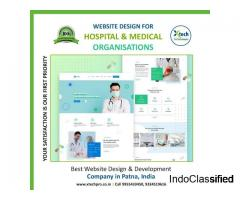 Website Designing Services in Patna for Hospital | Xtechpro