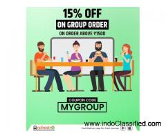 Make The Journey With Your Gang Full Of Joy, Order Group Food With RailRestro