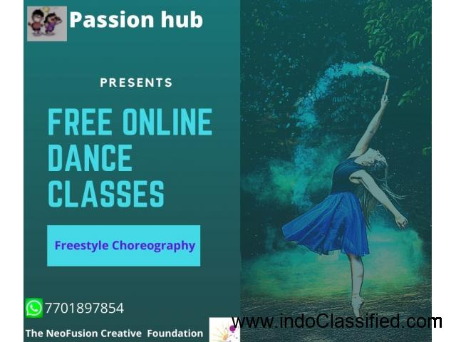 FREE ONLINE DANCE CLASSES BY THE NEOFUSION CREATIVE FOUNDATION - 1