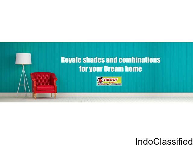 The India's No.1 Interior & Exterior Wall Paint company!