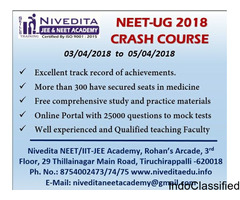 NEET-UG 2018 Crash Course