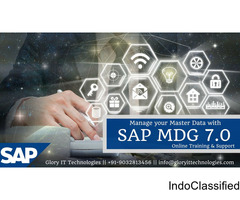 Track your master data across the enterprise with SAP MDG online training by Glory IT Technologies