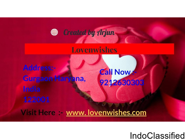 Get the online cake deliver in India at Lovenwishes