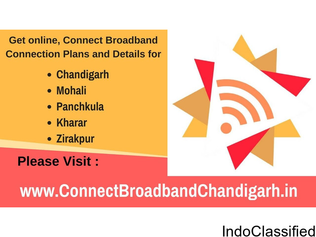 connect broadband service connection in phase 2 mohali
