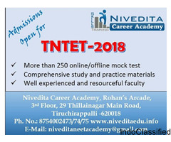 TET 2018 coaching at Nivedita Academy