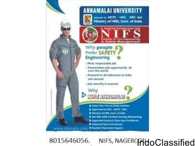 Annamalai University NIFS Fire&Safety Institute