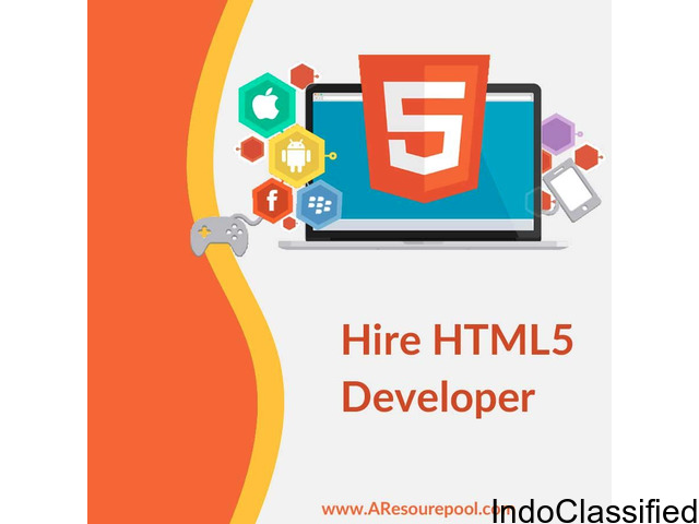 Hire HTML5 Developers at Web Development Company USA- AResourcePool