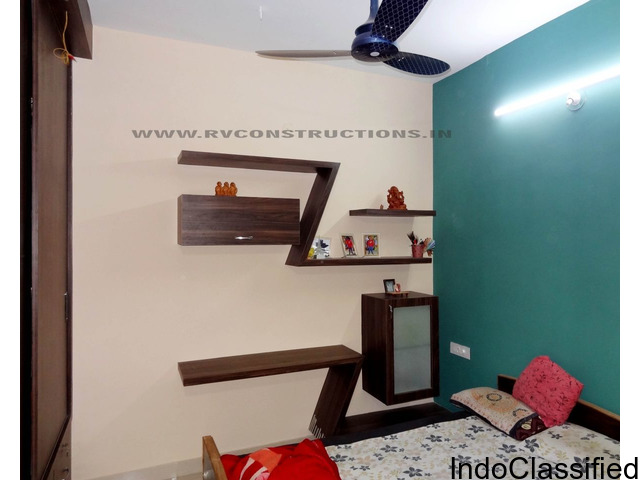 Interior Designing, House Renovation, Fall Ceiling, Painting, Residential House Construction