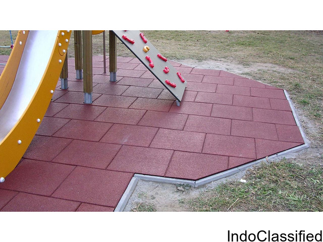 Kids Play Area Flooring, Rubber Flooring, Rubber Gym Flooring