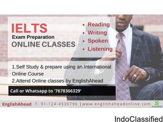 Prepare & Score high for IELTS – Online Classes using International courseware