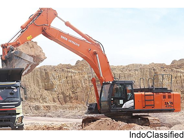 Excavator on rent in india at cheapest charge