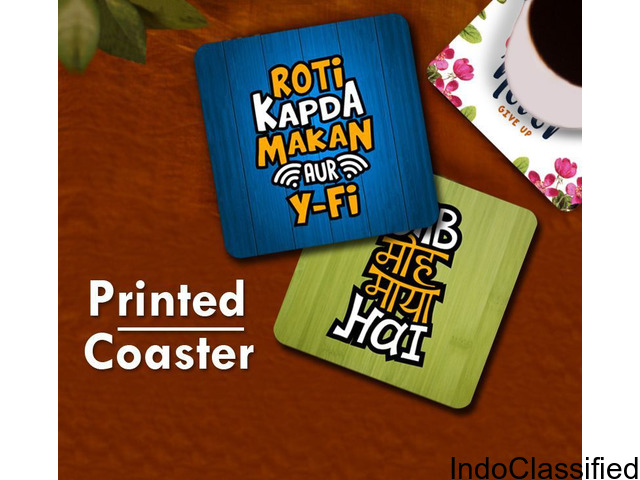 Table Coasters- An Ideal Choice of Decorative Tea Drinking Accessory