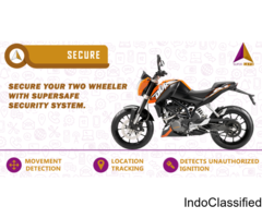 Tracking Device for two wheeler and four wheeler