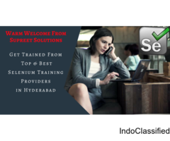 BEST SELENIUM ONLINE TRAINING IN HYDERABAD