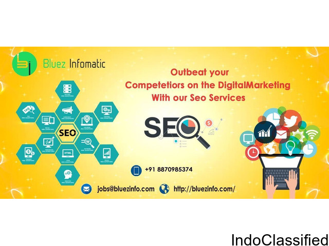Bluez infomatic is a leading IT-SEO service provider in Tirupur