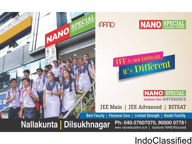 BITSAT Coaching Centres in Hyderabad-Nano