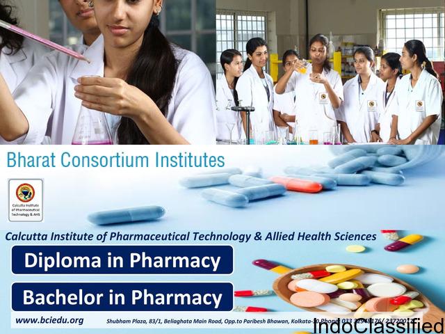 diploma in pharmacy in Kolkata, Bachelor of Pharmacy in Kolkata