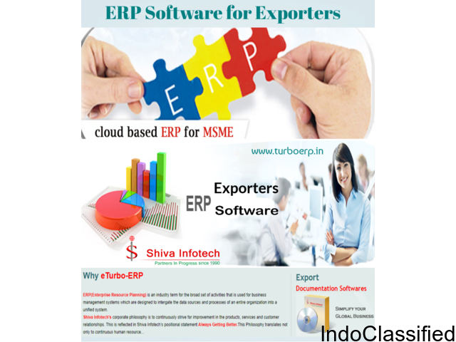 ERP Solution For Exporters
