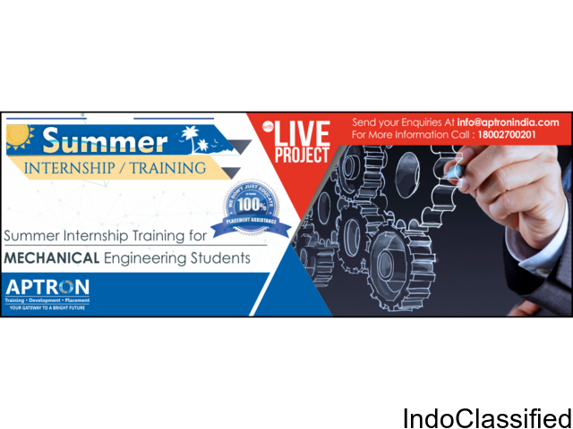 Summer Training for Mechanical Engineering Students