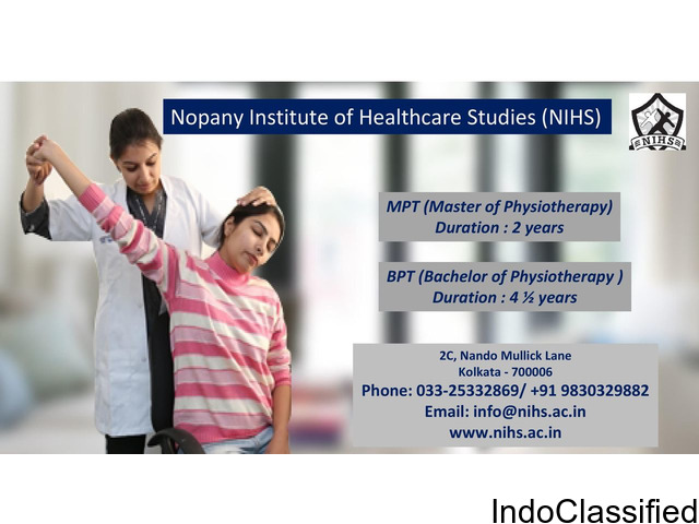 Physiotherapy in West Bengal, Bachelor physiotherapy course Kolkata,