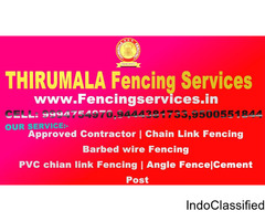 Fencing Services in Kumbakonam | Thirumala fenicng