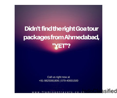 Haven't Explore Goa Yet? Experience Goa Tour with Flamingo Travels