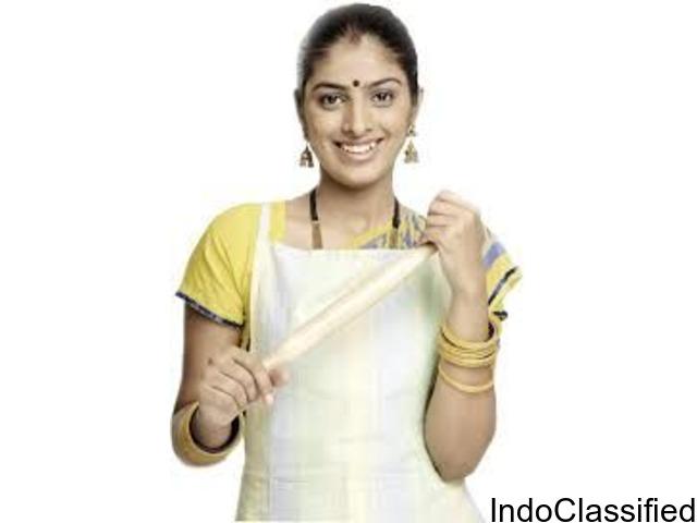 Hire maid,babysitter,nanny,elder caretaker, cook services in indore