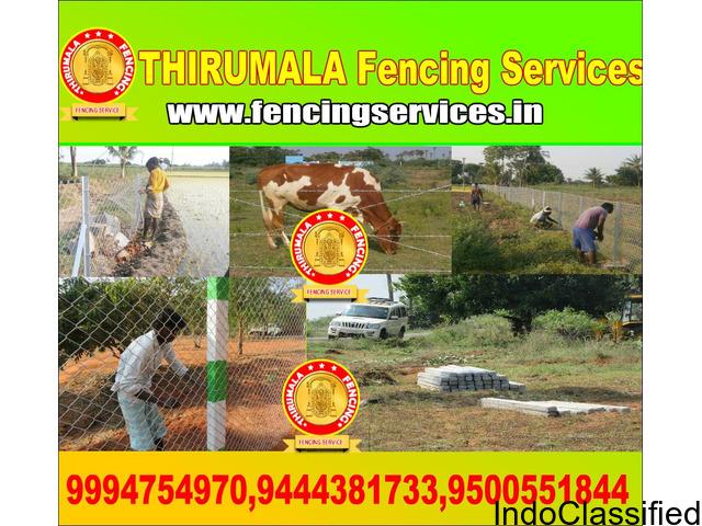 Fencing Services in Salem | Thirumala fencing