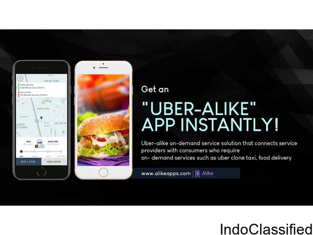 Alike Uber Clone app at $999