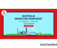 Register Today for FREE Workshop on Australia Migration
