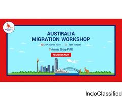 Register Today for FREE Workshop on Australia Migration